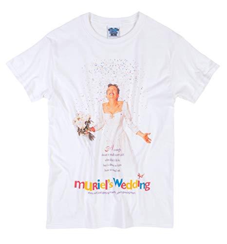 TruffleShuffle Muriels Wedding Movie Poster White T Shirt - Movie Tees