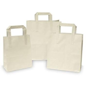 Bolsas de Papel para Alimentos / Comida para Llevar / Bolsa de Recuerdos de Fiesta con