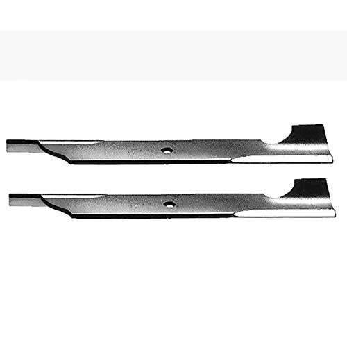 (2) Toro Walk Behind Mower High Lift Notched Blades 32
