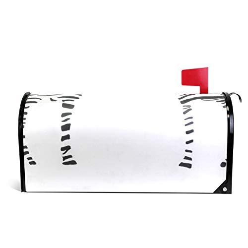 Ladninag Mailbox Covers Magnetic Giraffe Stripe Standard