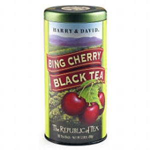 The Republic of Tea, Bing Cherry Black Tea (Harry & David), 50 Count