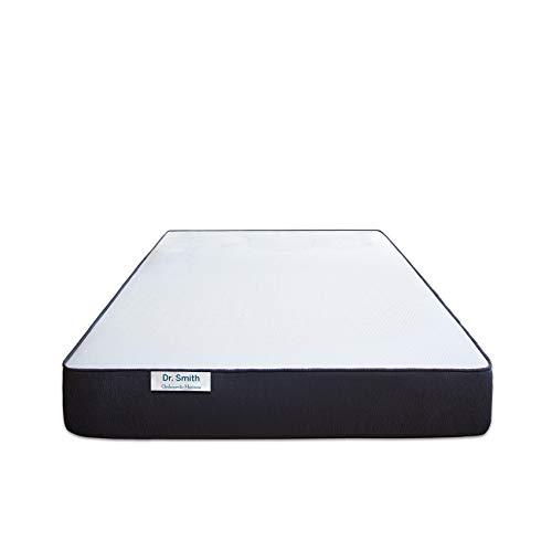 Aart Dr SmithDual Comfort Mattress – Hard & Soft (72x60x5) inch Queen Bed Size High Resilience (HR) Foam Mattress