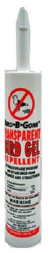 Bird-B-Gone MMTBG 10 oz Transparent Bird Repellent Gel Tube - Quantity (10 Ounce Bird Repellent)