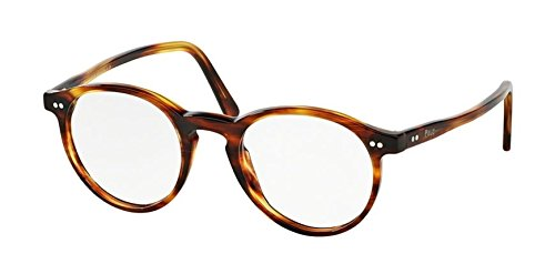 Polo Men's PH2083 Eyeglasses Havana Striped - Frames For Men Polo