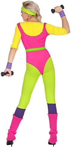 WIDMANN Disfraz de Monitora de Aeróbic para Mujer S: Amazon.es ...