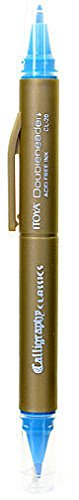 Itoya Doubleheader Calligraphy Marker (Aquamarine)