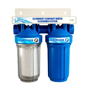 Pelican 2-Stage EZ-Connect Walter Filter 10'' Chlorine System