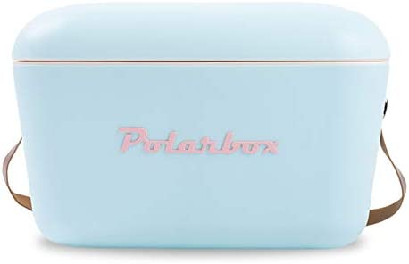 APRIL Frigorifero portatile Retro Vintage PolarBox azzurro