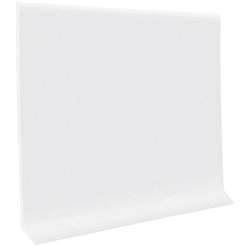 (HC40C54S161 Self-Stick Vinyl Wall Base, Snow White)