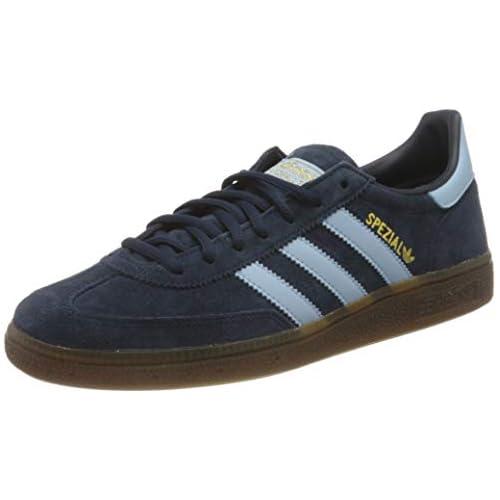 chollos oferta descuentos barato adidas Handball Spezial Sneaker Hombre Collegiate Navy Clear Sky Gum 45 1 3 EU
