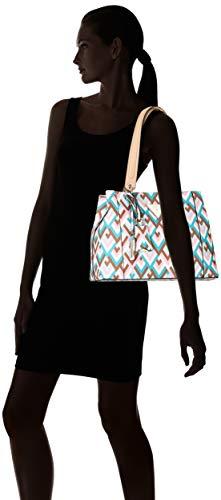 De gmt H geo Mujer Multicolor 33x26x15 Bolsos Kamryn Guess Shoppers L Y X w Cm multi Hombro HW4gvIwq