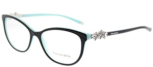 Tiffany 0TF2144HB-8055- BLACK/BLUE 54mm - Tiffany Victoria