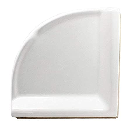 Corner Shower Shelf Large Ceramic
