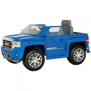 gmc sierra truck 6v ride on toys games. Black Bedroom Furniture Sets. Home Design Ideas