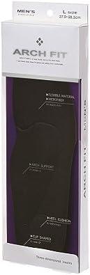 [アーチフィット] インソール アーチフィット メンズ ブラック L(27-28.5cm)