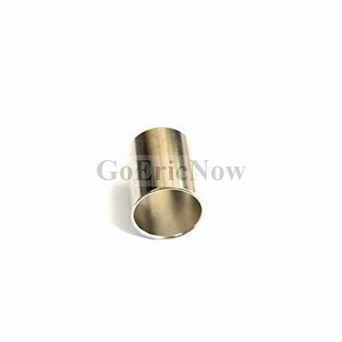 Davitu 100 pcs RF Coaxial Crimp Sleeve Ferrule Pleated Tube Pipe For RG58/RG316/RG59/RG6/RG8 Connector - (Color: RG8 LMR400 RG212)