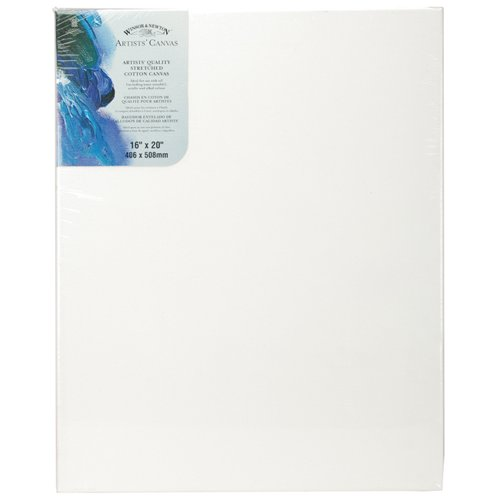 W&N Artists Stretched Canvas 16X20 - Winsor Newton Canvas
