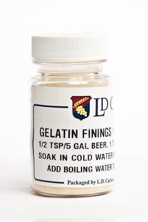 Gelatin Finings