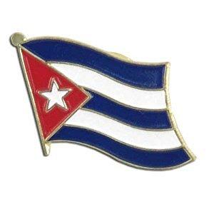 Backwoods Barnaby Cuban Flag Lapel Pin