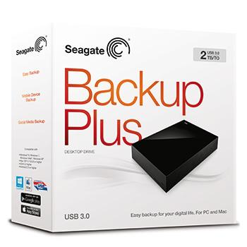 Foto Seagate Backup Plus Desktop