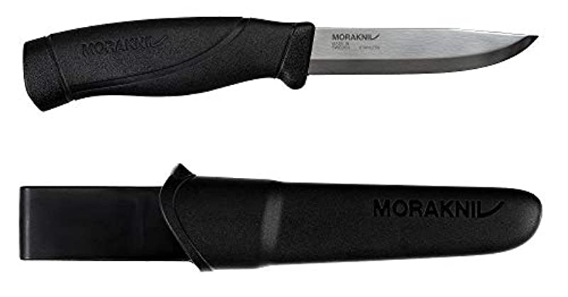 《모라》・나이프 Morakniv Companion Heavy Duty Black (스테인레스)