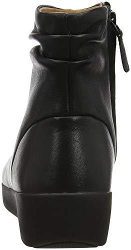 Nero 001 Skatebootie Black Donna Stivaletti Fitflop Leather Z6fFSWy6cK