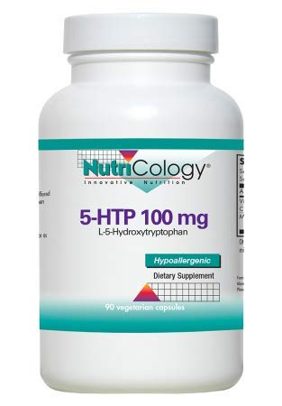 5-HTP 100mg Nutricology 90 VCaps