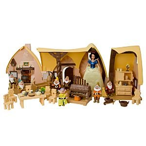 Amazon Com Snow White And The Seven Dwarfs Cottage Play