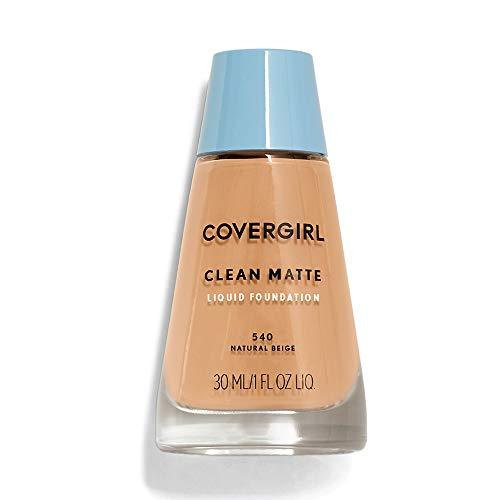 CoverGirl Clean Oil Control Liquid Makeup, Natural Beige [540] 1 oz