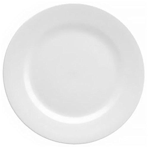 Oneida Foodservice F8010000149 Rolled Edge Dinner Plate, 10.5