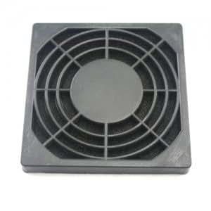 """3.15"""" Black Dustproof Dust Filter for PC Fan S"""