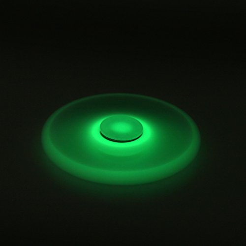 Balai Fidget Spinner Toy Glowing Hand Spinner Perfect For ADD, ADHD, Anxiety, and Stress Relief (Fluorescence)
