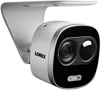 Lorex Weatherproof Indoor/Outdoor 4K Ultra HD Active Deterrence Security  Camera, HD Camera w/Long Range Color Night Vision, 2- Way Talk, Motion