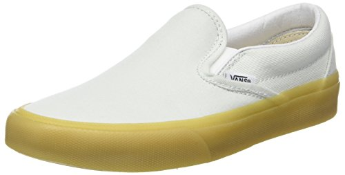 Vans Classic Slip-on, Baskets Enfiler Femme Vert (Blue Flower/Gum Q9t)