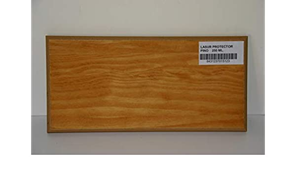 Lasur Protector al Agua para madera | Colores Madera y Decorativos | Producto a poro abierto | Ecológico | 5 Litros (Pino): Amazon.es: Bricolaje y herramientas