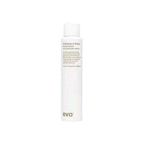 EVO Shebang-A-Bang Dry Spray Wax, 200 Gram
