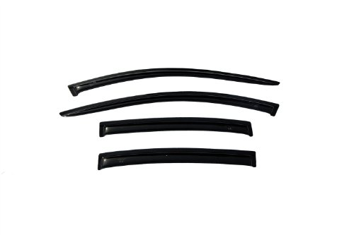 Auto Ventshade 94068 Original Ventvisor Side Window Deflector Dark Smoke, 4-Piece Set for 2008-2012 Chevrolet Malibu (Chevrolet Auto Malibu Body)