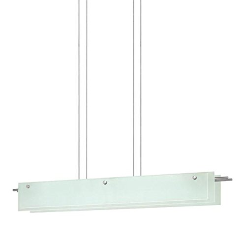 13 Sonneman Suspended Glass - Sonneman 3219.13LED Suspended Glass Slim LED Pendant, 40