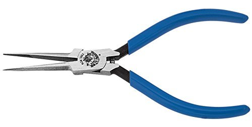Klein Tools D335-51/2C 5-Inch Long Needle-Nose Pliers-Extra Slim (Pack of 6)