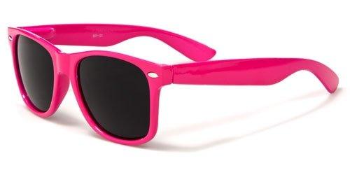 Vintage Retro Wayfarer Style Sunglasses (Hot Pink) (Hot Pink Wayfarer Sunglasses compare prices)
