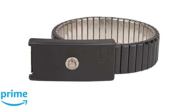 DESCO Brand 09041 Premium Metal Expanding Wristband 4 mm Stud UL Listed ASK-35471