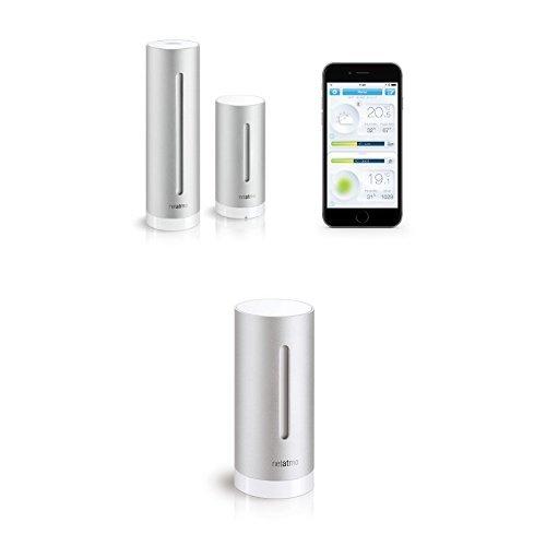 150 opinioni per Kit Netatmo Stazione Meteo per Smartphone + 1x Modulo Aggiuntivo