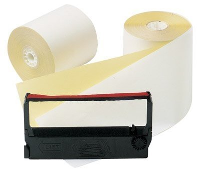 OfficeMax Verifone Rolls White/Canary kit, 12 Pack by OfficeMax