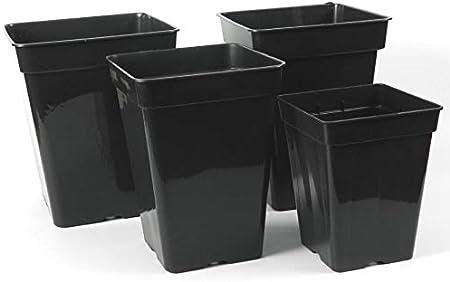 Vierkant Topf 3 11 L Liter 4 Kant Topf Viereckig Blumentopf Anzucht Pflanz Topf 3l 15 X 15 X 20cm Amazon De Garten