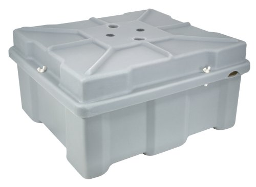 Moeller Roto-Molded Marine Battery Box (Two 8D Batteries, 27.5