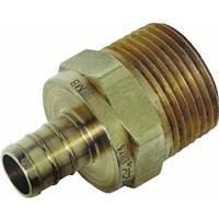 Watts PEX LFP-510 Male Adapter 1/2-Inch Barb x 1/2-Inch Male Pipe Low-Lead