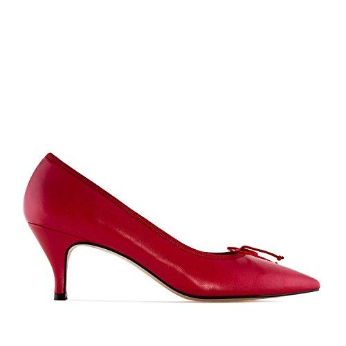 Andres 45 Para Punta 32 Rojo Machado In Mujer Grandes julia Piel Pequeñas 35 tallas 42 Made salón Fina Y Spain rgOrFxq6