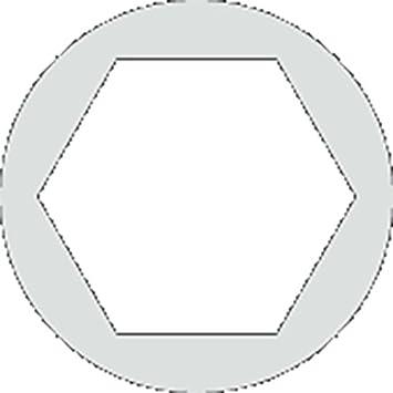 36321 Wiha pr/äziser Drehmoment-Schraubendreher easyTorque fest voreingestellte Drehmomentbegrenzung 4 mm 4,5 Nm