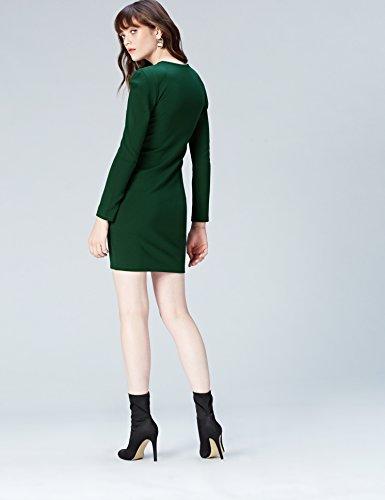 Pine Zip Front Femme FIND Grove Robe Vert XFwx7