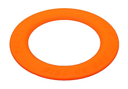 Jersey Dog Company, 803NG The Perfect DISC-GO-DOG, 8.75″ Wide x .25″ Thick, Safety Orange Review